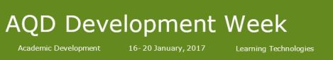 aqd_development_week_dec_2016
