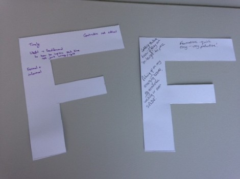 PIP feedback session