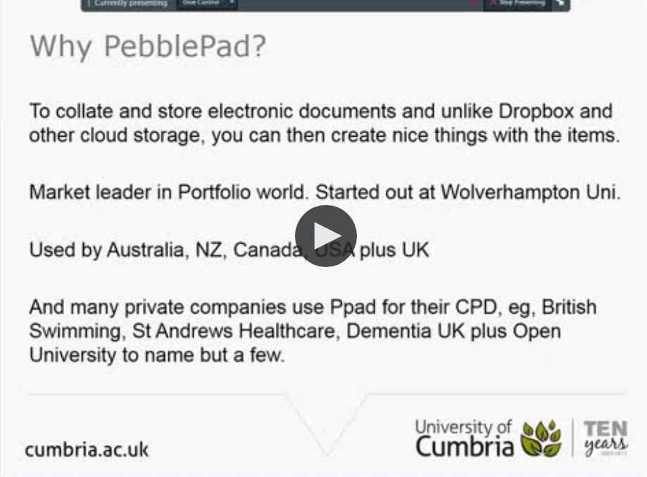 Pebblepad about me examples for dating